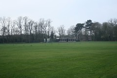 Cricket Pitch (My photos live here) Tags: ashby de la zouch bath cricket pitch grass wicket pavillion grounds leicestershire england canon eos 1000d town north west
