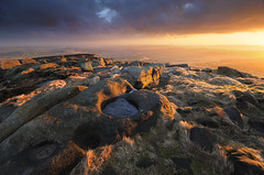 Morning Light at West Nab Summit (andy_AHG) Tags: landscape photography scenic beautiful landscapes british countryside outdoors rural northern england pennines moors rocks peak district west nab meltham moor wessenden head valley sunrise spring outdoor rock formation saddleworth huddersfield sunset sky