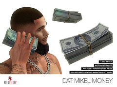 NEW! Dat Mikel Money @ Bad Unicorn Mainstore (Bhad Craven 'Bad Unicorn') Tags: • bhad craven second 2l life lindens profile picture photography bad unicorn badunicorn clothing buc bu secondlife graphics gfx graphic design photos pics photo sl urban mesh exclusive store blog fashion shadows high quality production portrait image hd definition original meshes meshed 3d game characters art gaming concept concepts new top work progress wip dollars stack bills ear money dolla dollar bill 100 benjamins