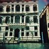 Venician windows 1 (sonofwalrus) Tags: holga film lomo lomography scan venice italy europe italia windows architecture building venezia xpro xprocessing canal water