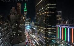 34th Street (20170317-DSC08769-Edit) (Michael.Lee.Pics.NYC) Tags: newyork aerial hotelview wyndhamnewyorker 34thstreet esb empirestatebuilding msg madisonsquaregarden 1pennplaza night longexposure architecture cityscape sony a7rm2 zeissloxia21mmf28