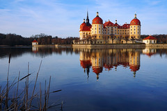 Moritzburg Castle (liebesknabe) Tags: moritzburg sachsen jagdschloss germany architektur architecture barock baroque water reflections saxony castle huntinglodge monument a5100 ilce5100 sonyalpha selp1650 lake