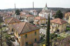 Crespi d'Adda, Italy, March 2017
