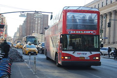 IMG_6588 (GojiMet86) Tags: top view go tours mciz corporation new york city bus buses 1999 gillig low floor 324 8th avenue 34th street 15ggd2218x1070444