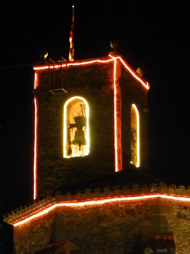 Òrrius església nit