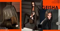 Geisha (geishagesu) Tags: secondlife sl geisha fujioka fashion