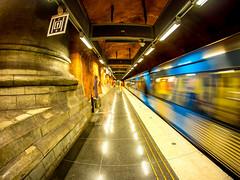 Rådhuset (Jens Haggren (off for a while)) Tags: metro subway underground rådhuset blueline stockholm sweden