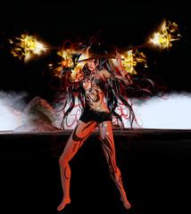 TerraMerhyem_2016_Shaman_02 (TerraMerhyem) Tags: sorcière sorcellerie sorcery magie shaman chamane chamanisme shamanism feu fire bruler burning terramerhyem merhyem sorciere witch magic femme woman belle beauté beauty flammes ritual rituel chamanique shamanic sexy