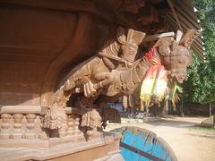 Temple chariot- Polikandy Kandasamy Kovil- Jaffna, Sri Lanka (M.K.Muruganandan) Tags: chariot woodencarvings templechariot polikandykandasamytemple srilanka
