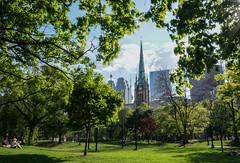 Toronto (Caledonia84) Tags: street longexposure toronto ontario canada tower cn niagara fisheye mustang 1855mm 16mm sonynex5r