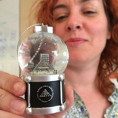 Kate's Rock'n'Roll Hall of Fame snow globe