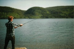 (wizbeff) Tags: film nature norway analog 35mm canon fishing
