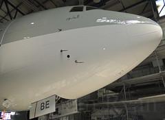A7-BBE - Qatar Airways B777-200LR (✈ Adam_Ryan ✈) Tags: boeing dub hanger dublinairport 2014 b777 repaint qatarairways b777200 eidw b777200lr a7bbe eirtech