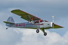 Auster J-1 Autocrat - 1 (NickJ 1972) Tags: anniversary aviation airshow duxford dday j1 autocrat 2014 auster taylorcraft gagto 5j1