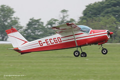 G-ECGO - 1966 build Bolkow Bo.208C Junior,  arriving at Sywell during AeroExpo 2014 (egcc) Tags: northampton norman junior orm 2014 599 continentalmotors bolkow sywell aeroexpo bo208 bo208c gecgo egbk o200 decgo