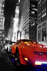 I love New York ! I wish to come back there . #Nyc #newyork #car #light #colore #selective (Iliyan Yankov) Tags: life street city nyc light urban newyork color car buildings square squareformat selective iphoneography instagramapp uploaded:by=instagram