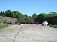 Lista Flyplass  ( Lister  Flugplatz ) Main hangar erea. Orinaly built by Luftwaffe (flyhistorie) Tags: 1940 shelter flugplatz lista lister luftwaffe luftforsvaret holtzpiste lemmebane