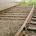 Obligatory photo of train tracks
