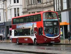 Lothian 329 SN09CVK (busmanscotland) Tags: buses eclipse volvo wright gemini lothian b9tl