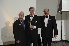 "L-R: Paul Subject, Larry Innanen with special Pauli Award for his years of service as Angel One's founding Chair, Colin Wyatt • <a style=""font-size:0.8em;"" href=""https://www.flickr.com/photos/124986169@N08/14464941460/"" target=""_blank"">View on Flickr</a>"
