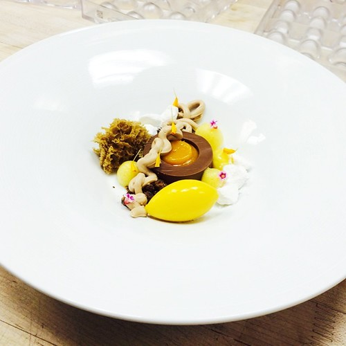 Passion Fruit Pudding Cake