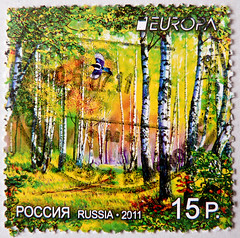 *peace* beautiful stamp Russia   15 P. EUROPA (Eurasian magpie & forest of birch, Elster / Pica pica & Birkenwald) timbre Russie selo Rusia sellos francobollo yupio lus     stamp Russia blyegek Oroszorszg frimrke 15 (thx for sending stamps :) stampolina) Tags: bird forest postes colorful europa russia stamps 15 porto birch magpie russian wald postage bunt franco picapica vogel rusland birke selo rusia  sellos  russland briefmarken rosja markas ryssland eurasianmagpie pulu  francobollo krievija selos venj rssia elster timbres frimrke frimrker timbreposte francobolli bollo rusya pullar timbresposte rusko  rusija znaczki   venemaa  oroszorszg frimaerke   timbru    rusiya   postapulu yupio   blyegek postacreti  ris