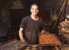 Help Yourself (Diane Northman) Tags: portrait baker oldman morroco heat almonds