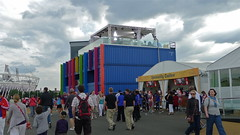 BBC TV Studio, London 2012 Olympics (sbally1) Tags: london stadium bbc olympic olympics london2012 summerolympics
