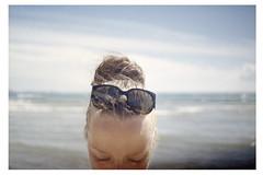 ! (Benedetta Falugi) Tags: sea portrait film beach me 35mm hair eyes friend closed friendship wind deep windy thoughts analogue lentiggini waltervalentini benedettafalugi fedorgogol fellingood