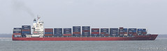 Santa Bettina (leightonian) Tags: uk island boat ship unitedkingdom isleofwight solent gb containership isle cowes wight iow