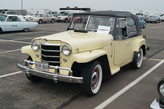 1950 Willys Jeepster (DVS1mn) Tags: new london car brighton antique run era brass brassera newlondontonewbrighton nlnb nlnbacr 28thannualnewlondontonewbrightonantiquecarrun