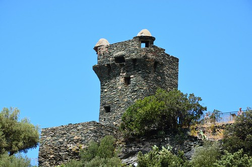Paoline tower of Nonza at Cap Corse (Corsica, France 2014)