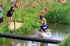 River Knock-Out _ 121 (lens buddy) Tags: uk england wet fun somerset games rafting raft watersports fancydress cameraclub summergames wetboys langport wetclothes thorney canoneosdigital wetgirls crazyrafting lowlandgames2014 riverknockoutchallenge itaknockout
