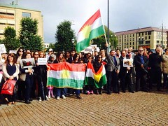 Kurds protest against ISIS (Kurdistan Photo ) Tags: terrorism    kurdistan                         pmerge