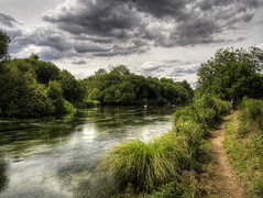 The River Itchen at Itchen Stoke