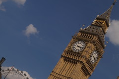 Big Ben (christoph.stauder) Tags: city london clouds sony sightseeing londoneye bigben best ever houseofparliament alpha58