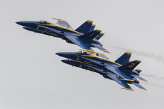 Blue Angels (Moments In Flight) Tags: formation f18 blueangels dlh fa18 2014 kdlh duluthiap duluthairandaviationexpo skeeterphoto