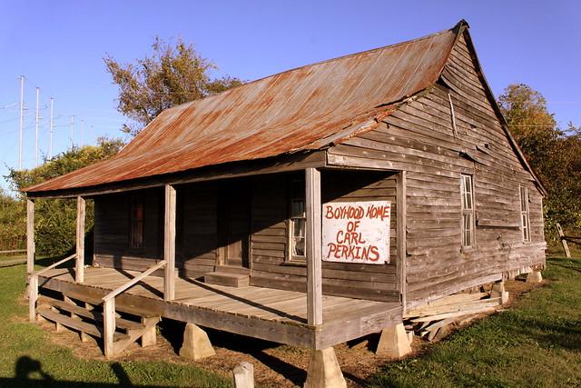 Boyhood Home of Carl Perkins