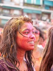 Monsoon Holi Lavapies Madrid 2014 (miguelno) Tags: madrid olympus monsoon holi e1 zuiko joli lavapies 1454mm  hol