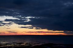 Le crepuscule d'un jour/The dusk of a day (bob august) Tags: sunset summer canada twilight nikon dusk couleurs coucherdesoleil rimouski 2014 jour2 stlaurentriver fleuvestlaurent d90 basdufleuve quebec nikond90 ete nikkor18300mm aout aperture3 ilestbarnabe