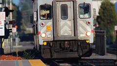 Caltrain, Burlingame, California (Vern Krutein) Tags: california city railroad usa caltrain technology publictransportation rail railways passengertrain passengerrailcar