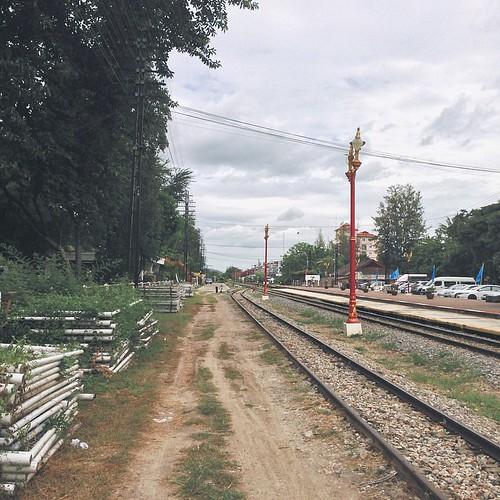 Hua Hin railway #vscocam #thailand #travel #love #beautiful #photograph