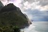 Nā Pali Coast (kyounger3) Tags: ocean longexposure beach clouds island hawaii coast rocks kauai napali nāpali canon6d bw30nd
