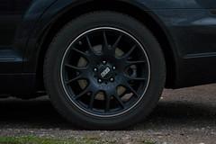 Mercedes-Benz S500 (sean.m.c photography) Tags: black sedan nikon colorado mine spokes wheels continental tire racing mercedesbenz brakes brake spotted expensive bbs matte motorsport rotor teflon wolcott s500 caliper d3200