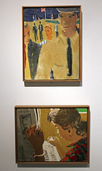 Two Works by David Park (JB by the Sea) Tags: california painting oakland alamedacounty davidpark oaklandmuseumofcalifornia omca bayareafigurativemovement august2014