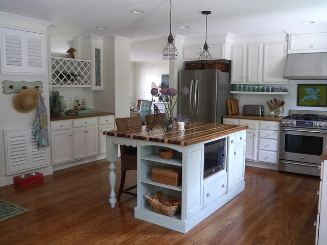 cottagestyle mintgreen kitchenisland kitchenremodel farmsink ranchhomemakeover
