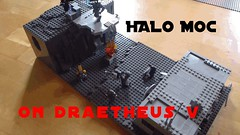 LEGO Halo Moc on Draetheus v (Takoiwari Productions) Tags: lego halo v spartan moc draetheus