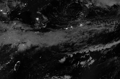 East Asia 3 (sjrankin) Tags: china panorama japan night clouds ir edited korea nasa pacificocean infrared southkorea northkorea eastasia seaofjapan eastchinasea koreanpeninsula viirs suominpp daynightband 12september2014 13september2014