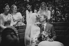 Wedding (siebe ) Tags: wedding holland dutch groom kiss couple ride nederland thenetherlands bridesmaids kus trouwen 2014 bruiloft bruid trouwfoto bruidsmeisjes trouwreportage bruidsfotografie bruidsfoto siebebaardafotografie