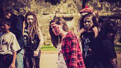 Zombies in Verdun ... (liryc30) Tags: france dark fun nikon walk makeup sigma gore zombies 55 lorraine maquillage meuse verdun glauque 55100